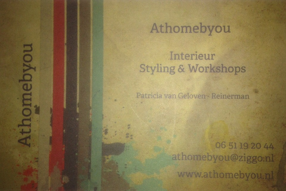 Athomebyou Interieur Styling Workshops - Home